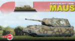 Can.do Super heavy Maus Tank 1/144 scale ready Built